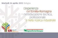 L'esperienza dell'Emilia-Romagna nell'educazione tecnica, professionale e nella ricerca industriale