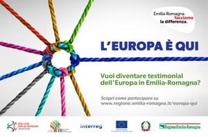 Anche i progetti Interreg al concorso L'Europa è QUI