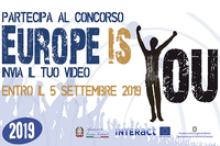 Europe is you, un concorso video amatoriale rivolto a cittadini e studenti