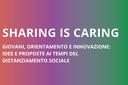 Innovare i servizi di orientamento ai tempi del covid-19, al via Sharing is caring