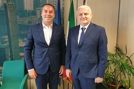 Lavoro, l'assessore Colla riceve il segretario di Stato di San Marino